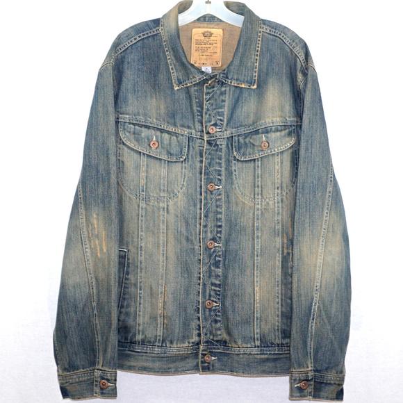 Old Navy Other - Old Navy distressed denim jean jacket EUC XL